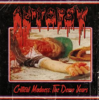"""AUTOPSY (USA) - """"Critical Madness: The Demo Years"""" - CD 2018 - Peaceville Records"""