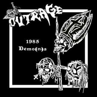 """OUTRAGE (Germany) - """"1985 Demo(n)s"""" - CD 2014 - VIC Records"""