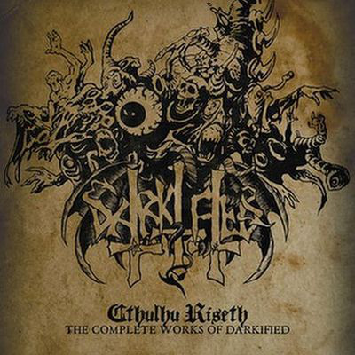 """DARKIFIED (Sweden) - """"Cthulhu Riseth - The Complete Works of Darkified"""" - CD 2012 - VIC Records"""