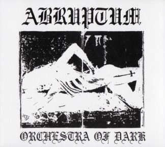 """ABRUPTUM (Sweden) - """"Orchestra of Dark"""" - Limited White LP with Poster 1991 - Blooddawn Productions"""