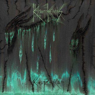 """KHTHONIIK CERVIIKS (Germany) - """"Æquiizoiikum"""" - Limited Gatefold LP 2020 - Iron Bonehead Productions"""