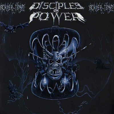 """DISCIPLES OF POWER (Canada) - """"Power Trap"""" - CD 1989 - VIC Records"""