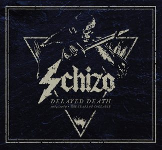 """SCHIZO (Italy) - """"Delayed Death - 1984/1989 The Years of Collapse"""" - Deluxe Digi 2CD 2021 - F.O.A.D."""