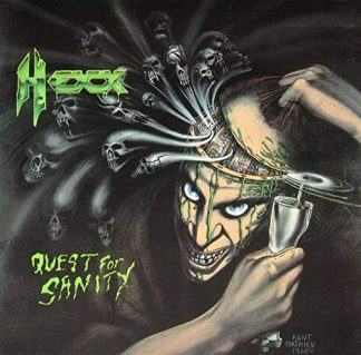 """HEXX (USA) - """"Quest for Sanity / Watery Graves"""" - CD 2018 - VIC Records"""