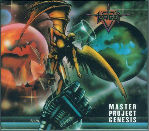 """TARGET (Belgium) - """"Master Project Genesis"""" - Digibook CD 1988 - Activist Records"""