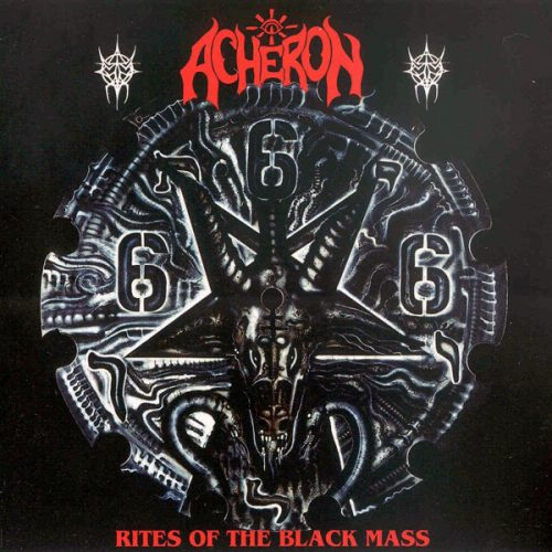 "ACHERON (USA) - ""Rites of the Black Mass"" - CD 1992 - VIC Records"