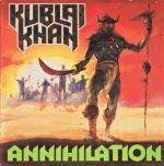"KUBLAI KHAN (USA) - ""Annihilation"" - Digibook CD 1987 - Archivist Records"