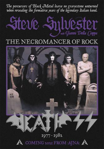 """DEATH SS - """"The Necromancer of Rock"""" - Book - The Ajna Offensive"""
